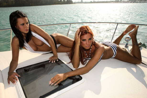 Angelica Kitten and Ashley Bulgari in bikini